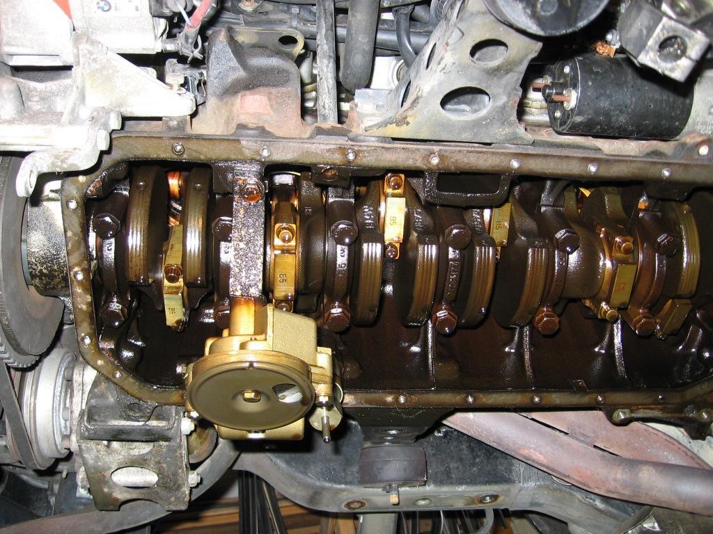M30 Oil Pan Gasket Leak