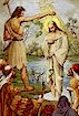 The Baptism of Jesus in the Jordan River