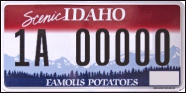 State of ID plate