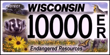 State of WI plate