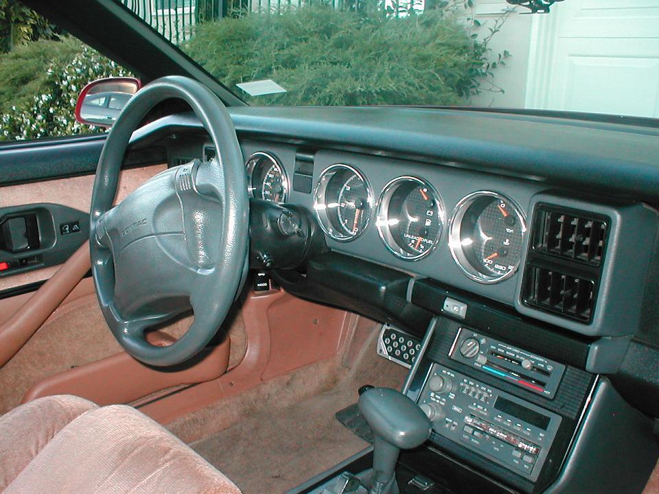 Third Generation Firebird Interior Autos Post