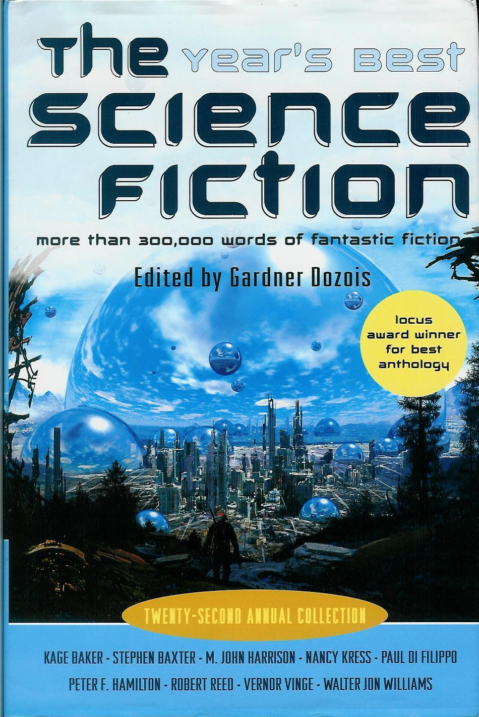 Best Sci Fi & Fantasy 22nd Edition, cover.